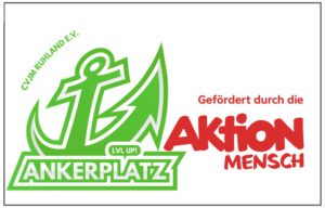 """Logobild Ankerplatz und """"Aktion Mensch"""""""