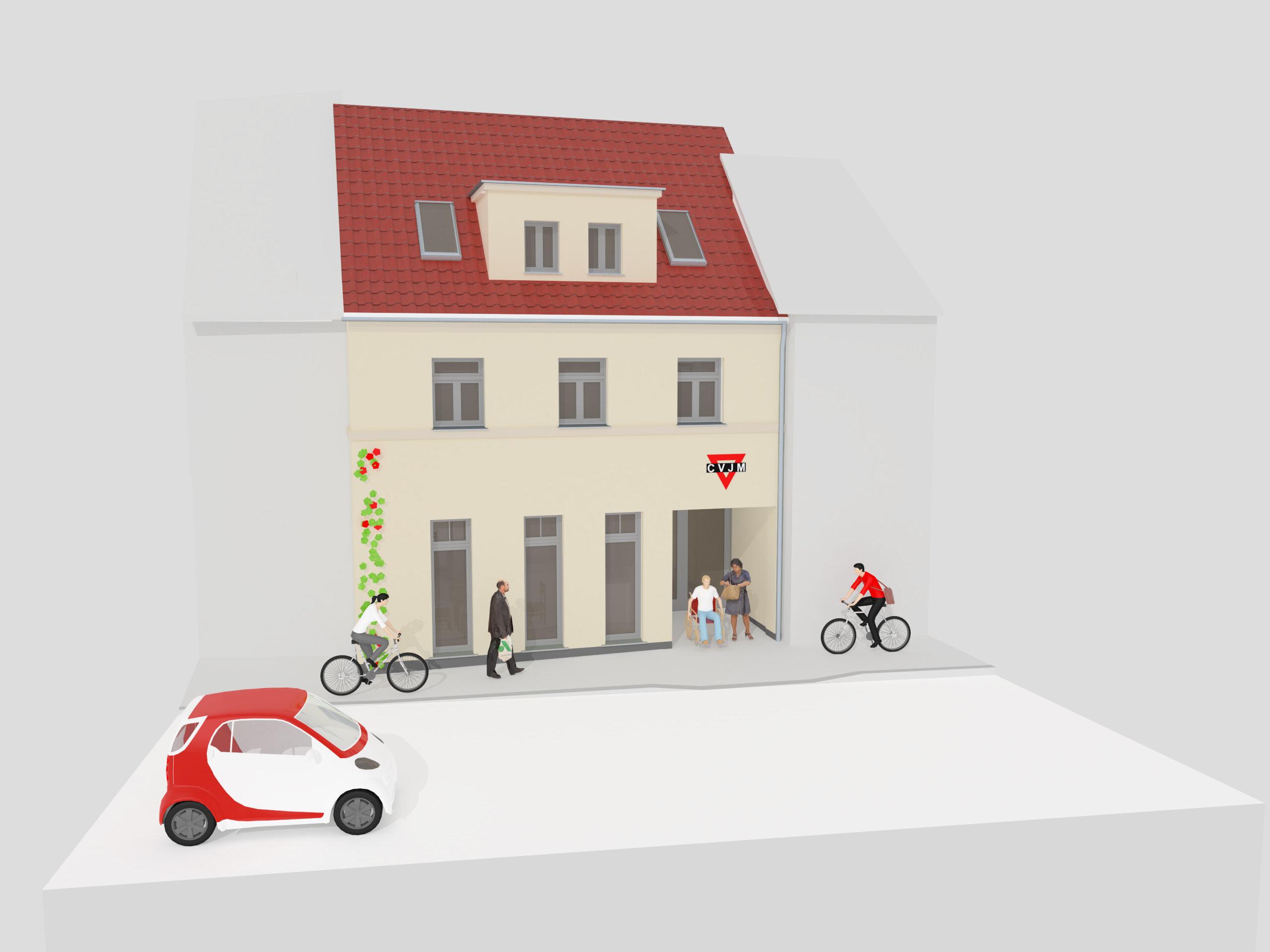 3D Model von einem Haus